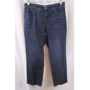 Coldwater Creek Classic Fit Denim Jeans 14